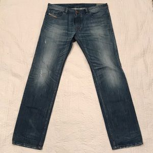 Diesel Safado Regular Slim Straight Jeans